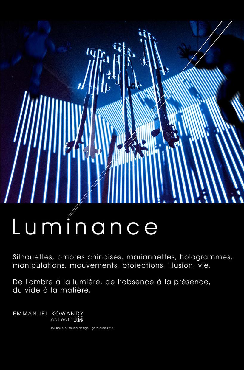 Afiche luminence