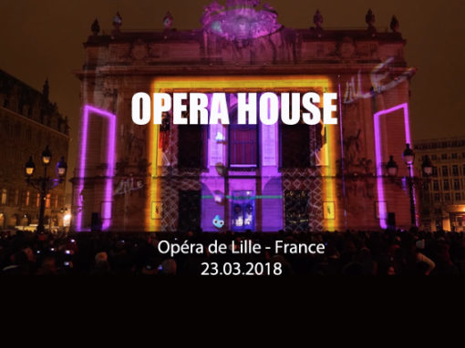 Mapping Monumental – Opéra de Lille – Mars 2018