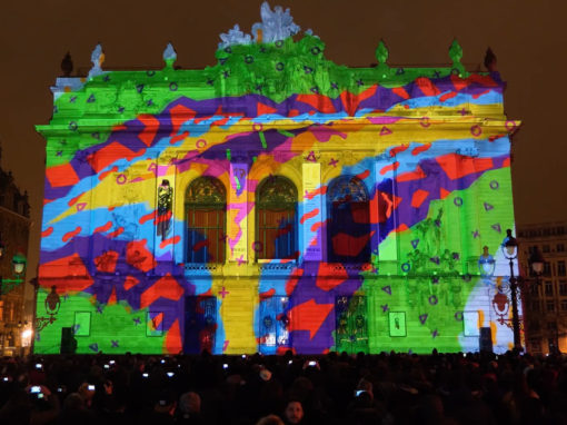 Mapping Monumental – Opéra de Lille – 2018
