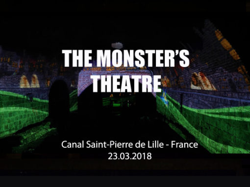 Mapping Immersif – Canal Saint Pierre de Lille – Mars 2018