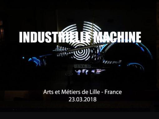 Mapping Objet – ARTS ET MÉTIERS de Lille – Mars 2018