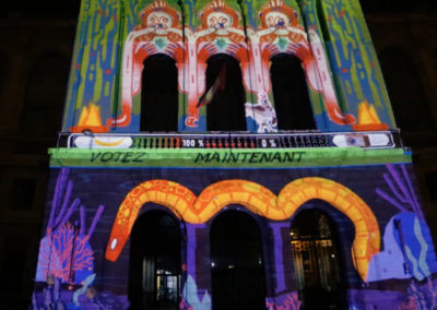 Video Mapping Festival #1 – SCIENCES PO LILLE