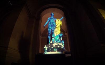 Mapping Objet Interactif – Statues Eugène Dodeigne – Palais des Beaux Arts de Lille – Mars 2018