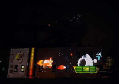 Video Mapping Festival #1 – TERMINUS DE TRAMWAY, DENAIN / FRANCE – mai 2018