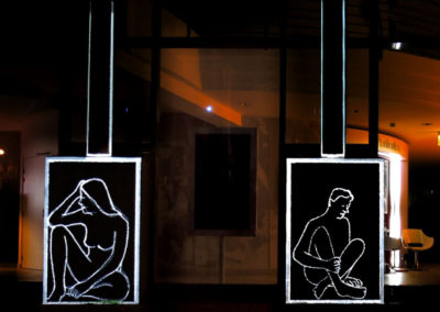 Video Mapping Festival #1 – RUE DE BETHUNE, LILLE – Boîtes en dialogue