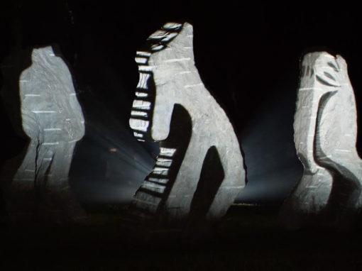 Mapping Objet – Statues – Musée le LAM – Villeneuve d'Ascq – 2018