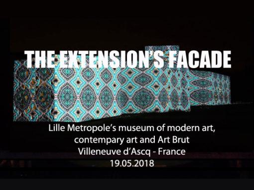 Mapping Monumental – Musée le LAM de VILLENEUVE D'ASCQ – Mai 2018