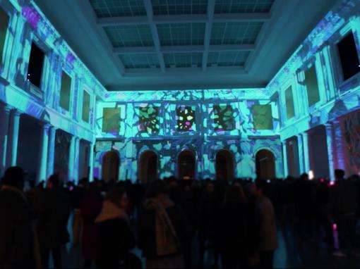 Mapping Immersif – Atrium – Palais Des Beaux Arts de Lille – 2019
