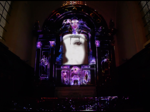 Micro Mapping Objet – Église Sainte-Marie-Madeleine – Lille – 2018