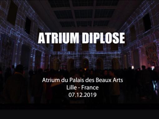 Mapping Immersif – Atrium – Palais Des Beaux Arts de Lille – Décembre 2019