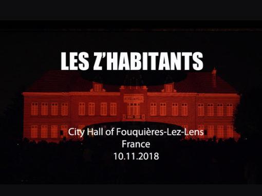 Mapping Monumental – Hôtel de Ville de Fouquières-Lez-Lens – novembre 2018