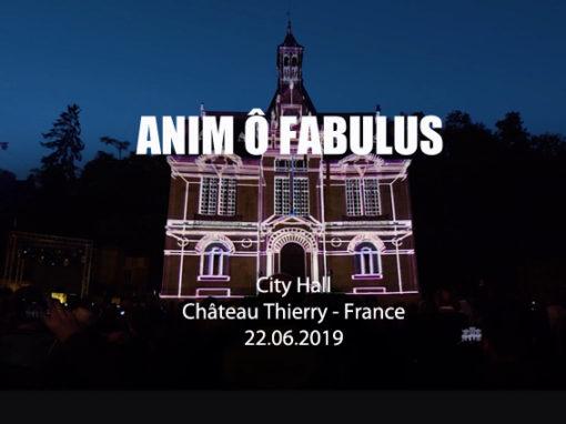 Mapping Monumental – Hôtel de Ville de Château Thierry – Juin 2019