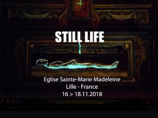 Micro Mapping Objet – Église Sainte-Marie-Madeleine de Lille – Novembre 2018