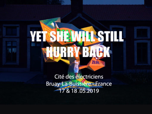 Mapping Interactif – Cité des électriciens – Bruay-La-Buissière – Mai 2019