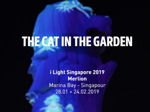 Mapping Objet – Merlion Park à Singapour – Janvier 2019