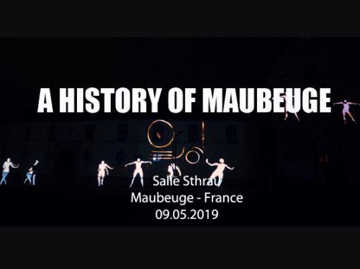 Mapping Monumental – Salle Sthrau de Maubeuge – Mai 2019