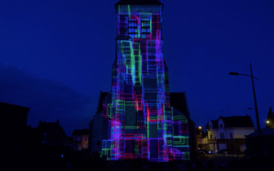 Mapping Monumental Église-Saint-Nicolas Arleux Avril 2019