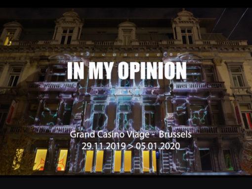 Mapping Monumen – Grand Casino Viage – Bruxelles 2020