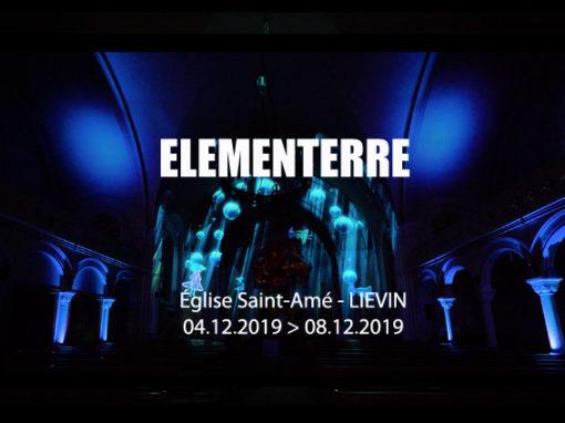 Mapping Immersif – Eglise Saint-Amé, Liévin – France – décembre 2019